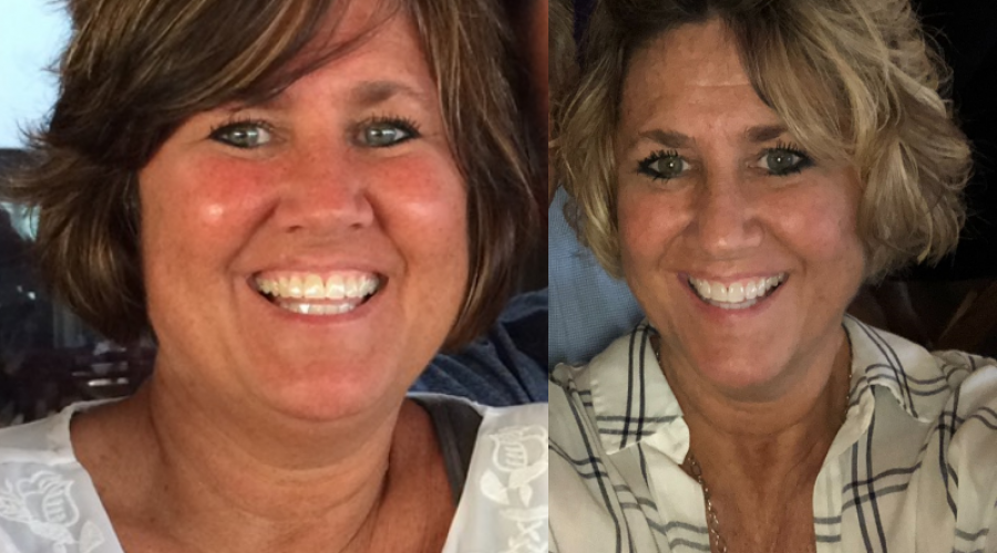 Brenda is down 40 pounds, and Teaching us a Lesson on Giving Our Best