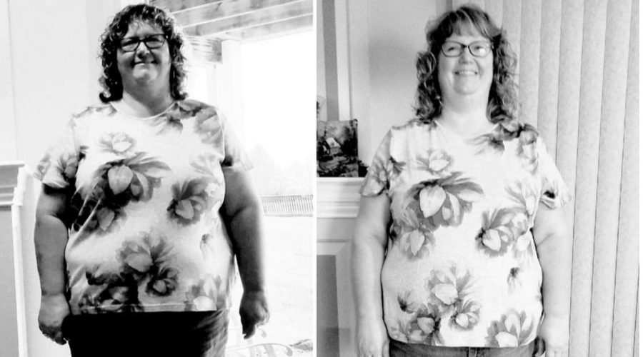 Kim is Down 27 Pounds! And, her Courage and Beauty Shine in her Testimony!