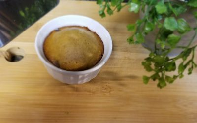 Chocolate Chip Cookie Dish for One