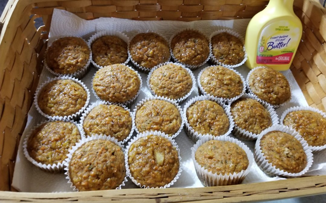 Kellie's Carrot Cake Muffins